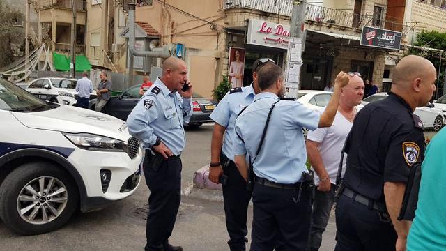 ירת הרצח בנצרת (צילום משטרת ישראל)