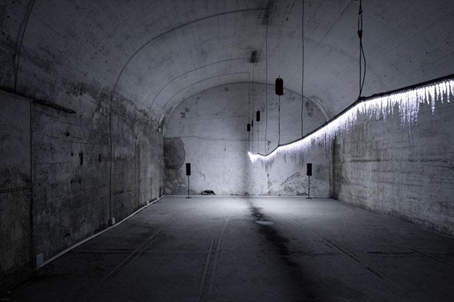 Grow-Glow, המיצב המהפנט של Tact Project במתחם Ventura Centrale. צילום: Takumi Ota