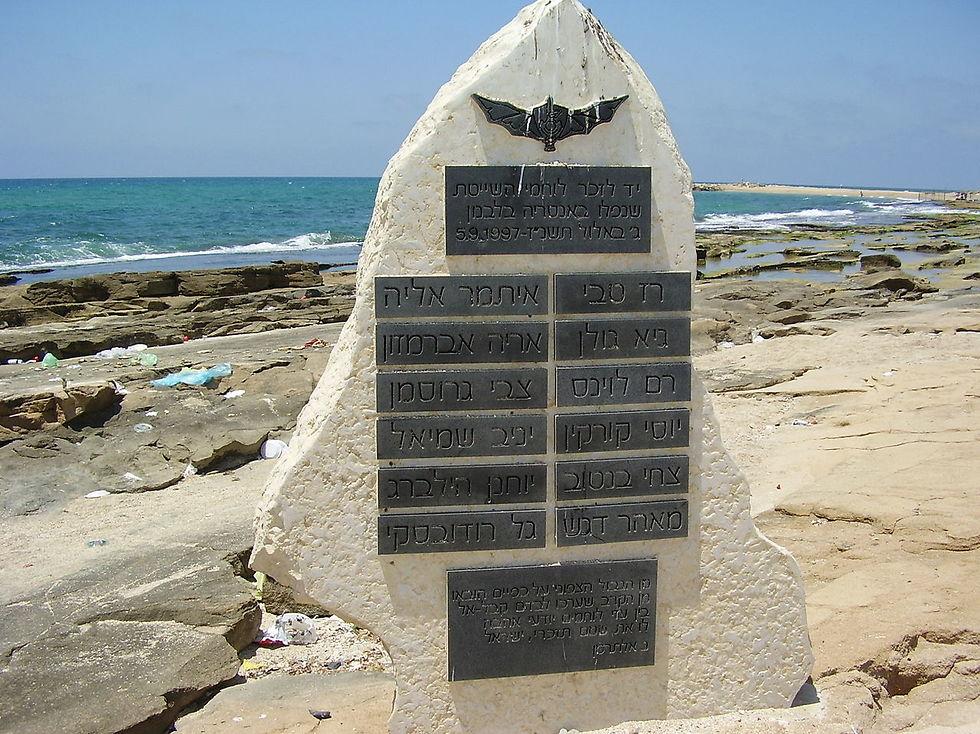 האנדרטה בשבי ציון (צילום: ד''ר אבישי טייכר)