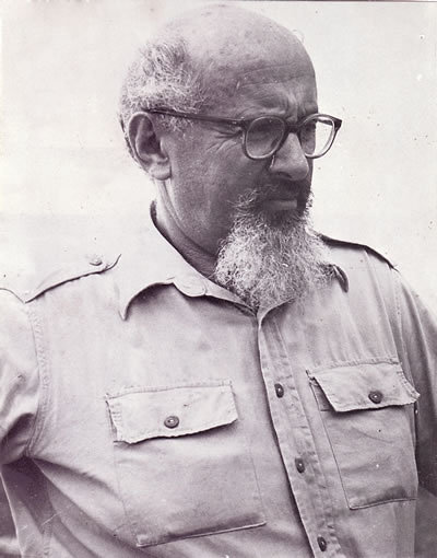 Yitzhak Sadeh, commander of the Palmach and a founder of the IDF (Photo: GPO)