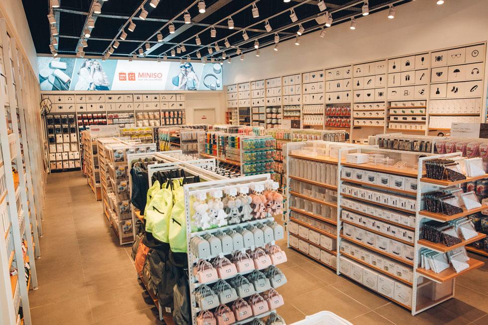 מיניסו. המימד הממכר הוא מגוון המוצרים שמתעדכן על בסיס קבוע, כמעט מדי שבוע (צילום: מיניסו)