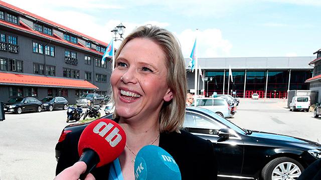 סילבי ליסטהאוג שרת ה בריאות של נורבגיה (צילום: AFP)