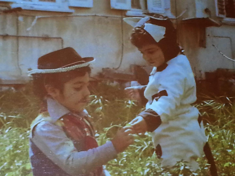 """שחר ז""""ל והילה אביגיל קיסוס (צילום: אלבום משפחתי)"""