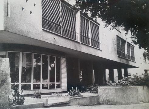 הצריף, שלימים הפך לבית, ברחוב הנביאים 4 בתל אביב (אדריכל: דן איתן)