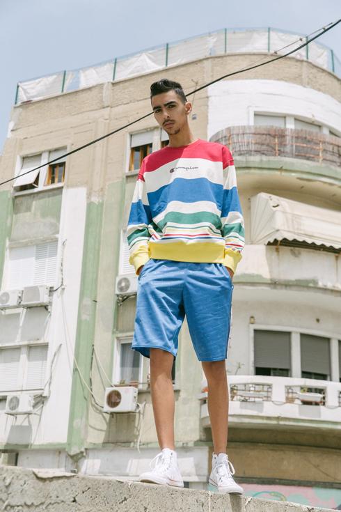 מזרחי, פנים רבות לו. יכול להחזיק שמלת מסלול וגם ג'ינס וטי–שירט  (צילום: יותם שוורץ לסוכנות artbook)