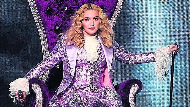 Pop superstar Madonna (Photo: AP)