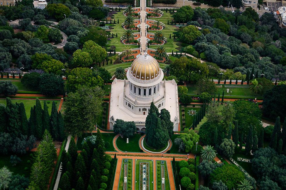 The Bahai Gardens in Haifa
