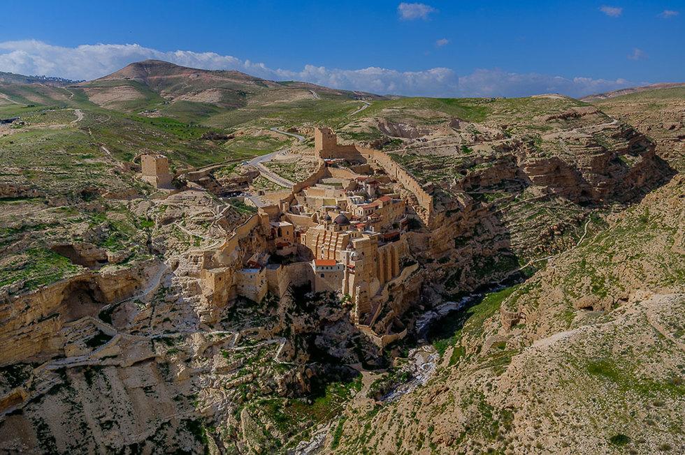 The Mar Saba monastery in the Judean Desert