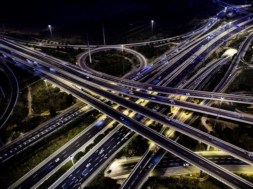 Ein Hakore interchange near Tel Aviv