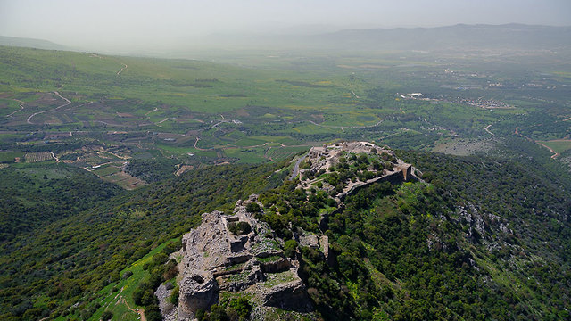 Ancient fortress on Golan Heights (Photo: Israel Bardugo)