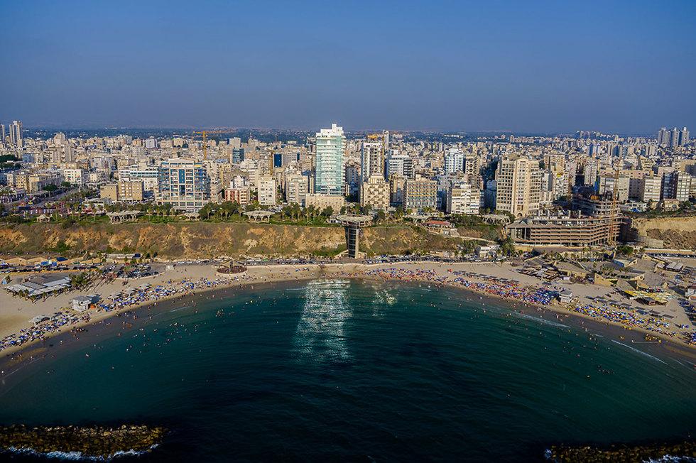The city of Netanya in Israel's center