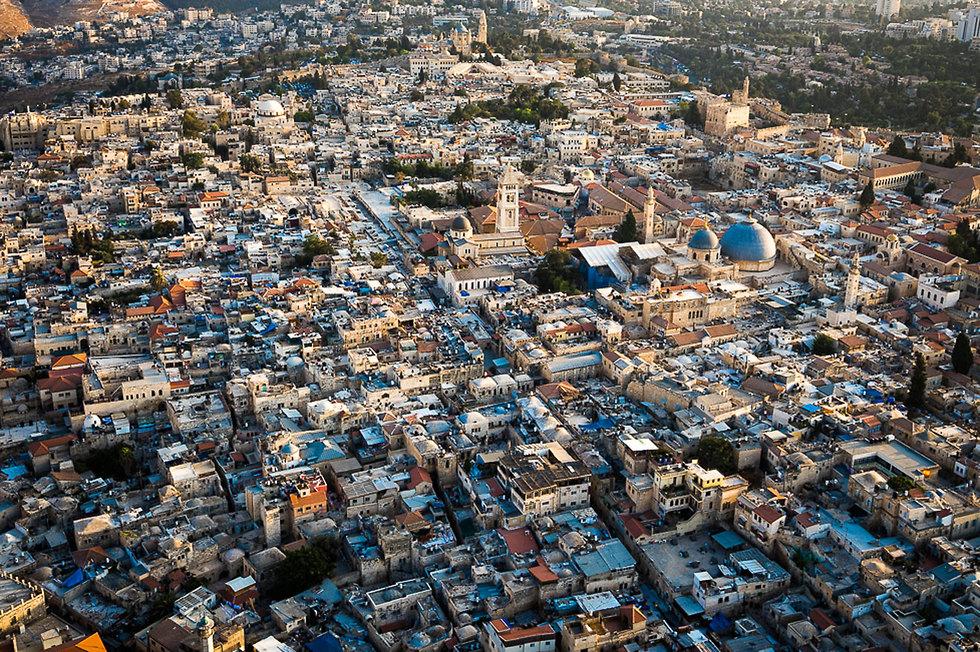 העיר העתיקה בירושלים (צילום: ישראל ברדוגו)