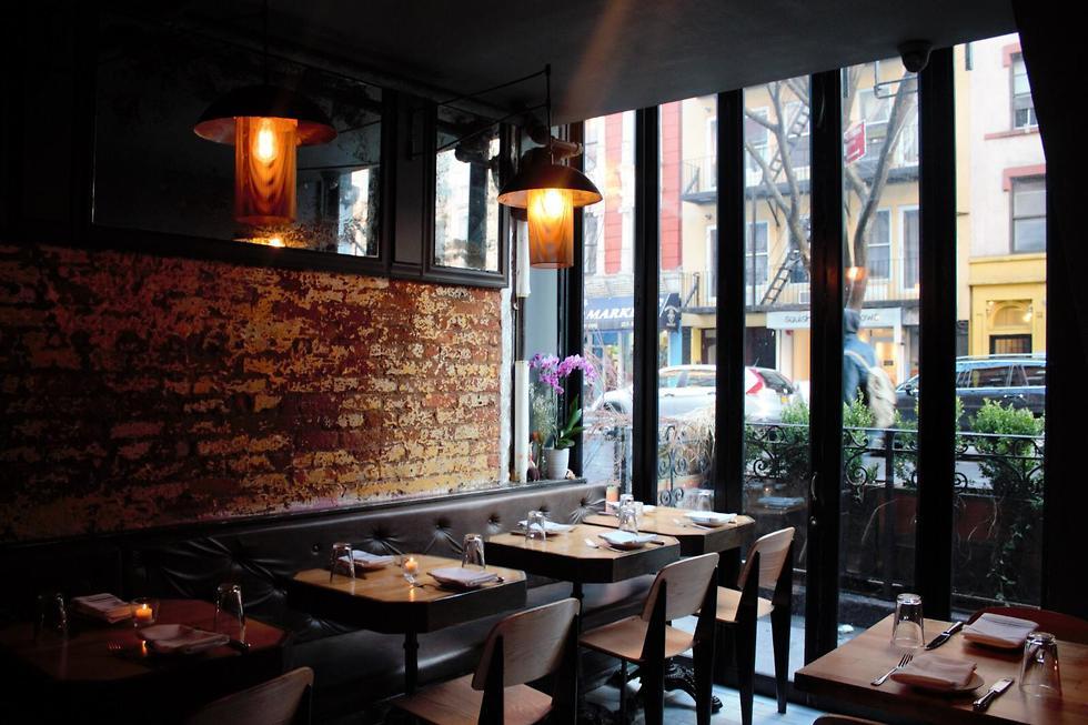 מסעדת תמנע בניו יורק (צילום: ליאת הלפרן)