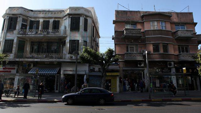 רחוב אלנבי תל אביב (צילום: עמית שעל)