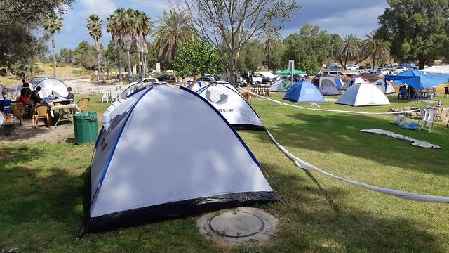 Camping in Ashkelon