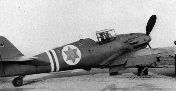 "Самолет S-199 (""нож"") ВВС ЦАХАЛа. Фото: Wikimedia"