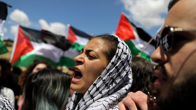 "Palestinian Israelis gather to commemerate ""Nakba"""