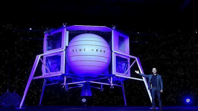 דגם החללית של Blue Origin (צילום: רויטרס)