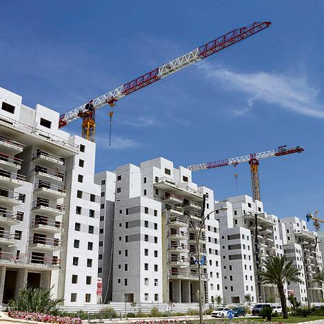 New housing project in Kiryat Gat
