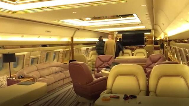 מטוס פרטי של הראפר דרייק (Instagram / champagnepapi)