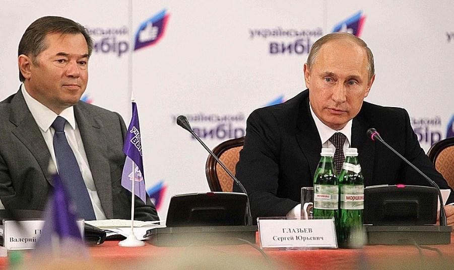 Путин и Глазьев. Фото: пресс-служба Кремля