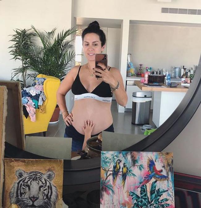 שי לי שינדלר בהריון שלישי (צילום מסך)