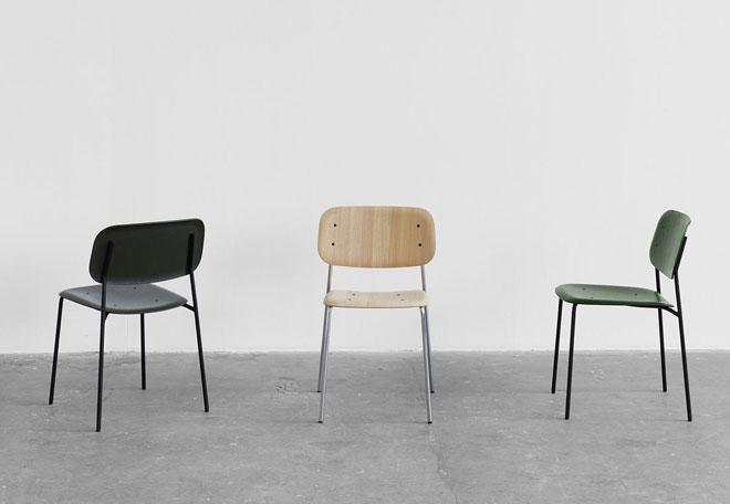 כסאות ''בית ספר'' של החברה הדנית HAY. טולמנ'ס דוט