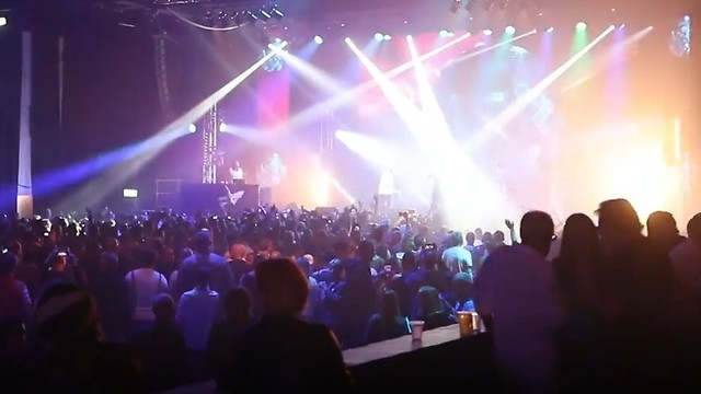 The Eurovision Village in Tel Aviv