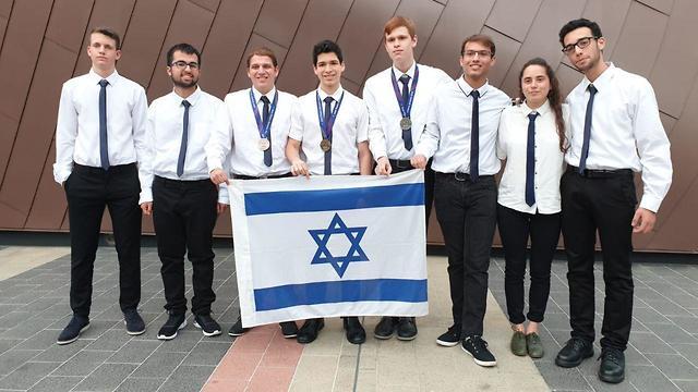 Израильская сборная по физике. Фото: Центр ученых будущего