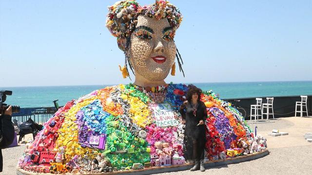The sculpture of Netta Barzilai (Photo: Moti Kimchi)