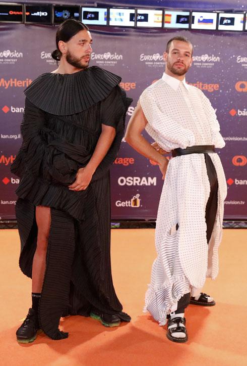 שחור ולבן זה הצבע שלי. להקת קונאן אוסיריס מפורטוגל (צילום: AP)