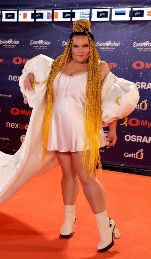 השטיח הכתום: המתלבשים הטובים והרעים מאירוע הפתיחה לאירוויזיון. לחצו על התמונה לכתבה המלאה (צילום: REUTERS)