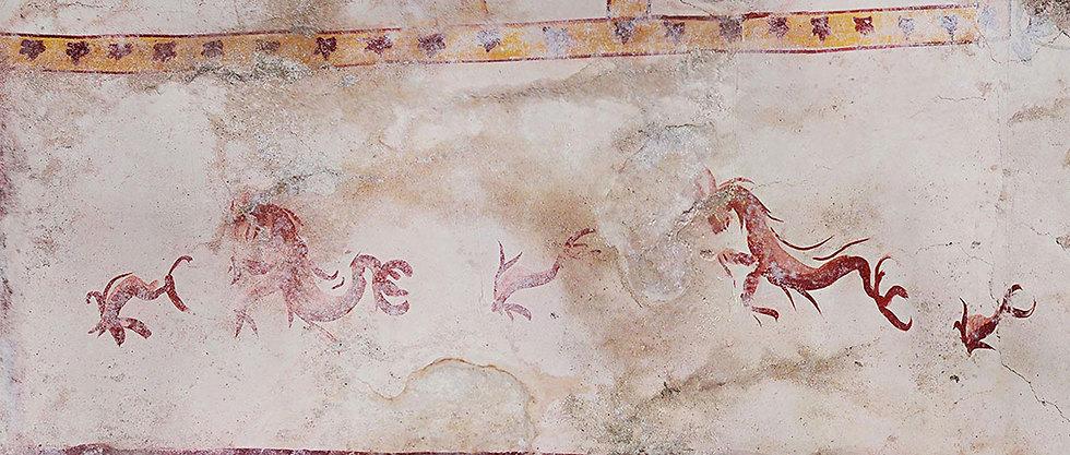 תא סודי בארמון הקיסר נרו רומא איטליה (צילום: AFP PHOTO / PARCO ARCHEOLOGICO DEL COLOSSEO)