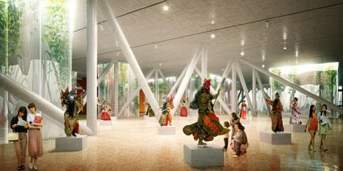אחת הזכיות הראשונות הייתה בתחרות לתכנון בית אופרה בבוסאן, העיר השנייה בגודלה בדרום קוריאה (הדמיה: StudioPEZ)