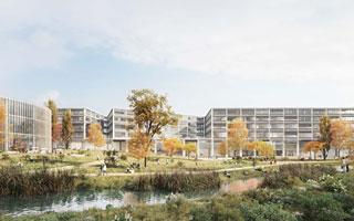 אדריכלות (הדמיה: Wulf Architekten, StudioPEZ)