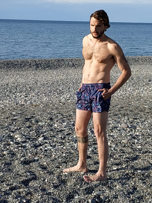 בבגד ים GANT (צילום: קרן ברי)