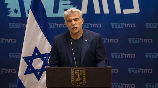 MK Yair Lapid (Photo: Ohad Zwigenberg)