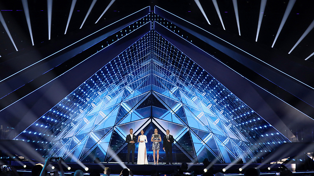 Hosts of Eurovision ahead of first semi final (Photo: EPA)