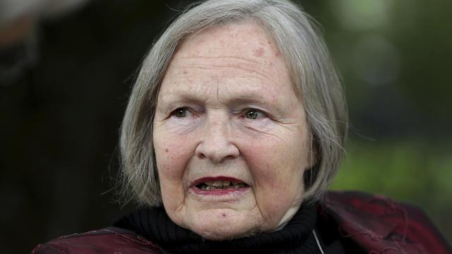 Saskia von Brockdorff, daughter of executed German resistance fighter Erika von Brockdorff  (Photo: AFP)