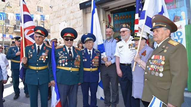 Парад Победы в Иерусалиме. Фото: Шломи Амсалем