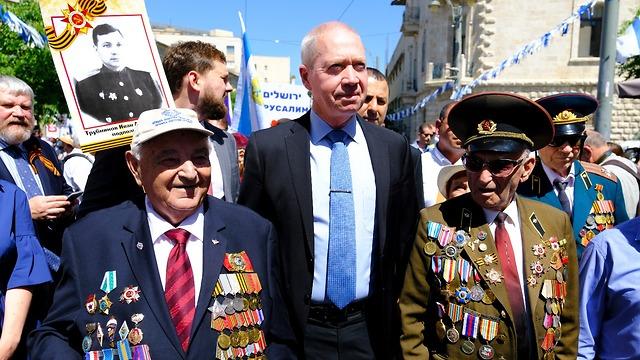 Парад Победы в Иерусалиме. Фото: Шарон Габай