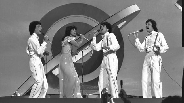 להקת חלב ודבש באירוויזיון (צילום: משה מילנר, לע