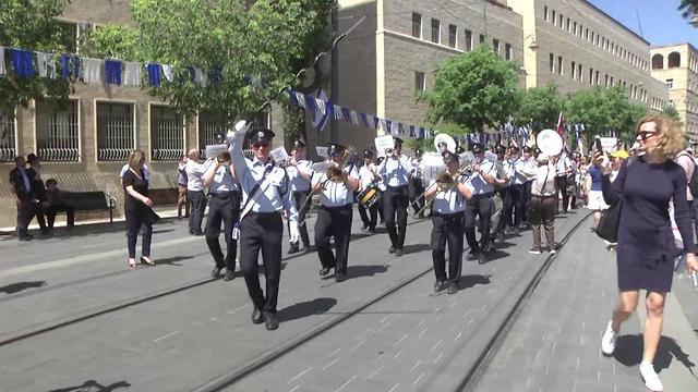 Парад Победы в Иерусалиме. Фото: Эли Мандельбаум