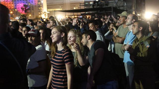 Евродеревня в Тель-Авиве, 16 мая. Фото: Моти Кимхи