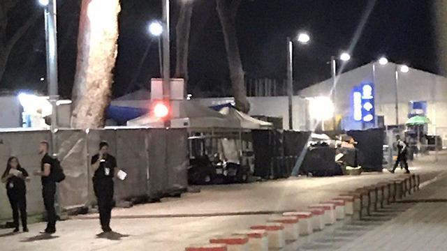 אוהלים מדונה אירוויזיון 2019 (צילום: רן בוקר)