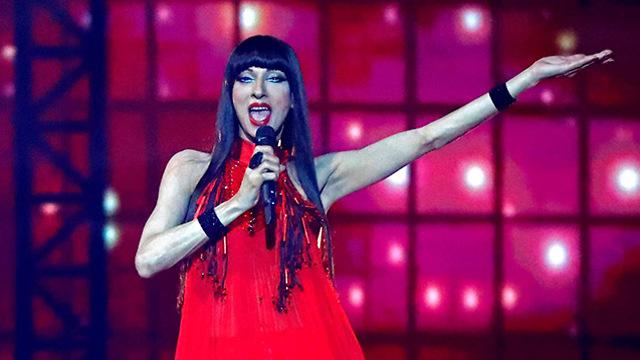 חצי גמר ראשון אירוויזיון אקספו תל אביב (צילום: AFP)