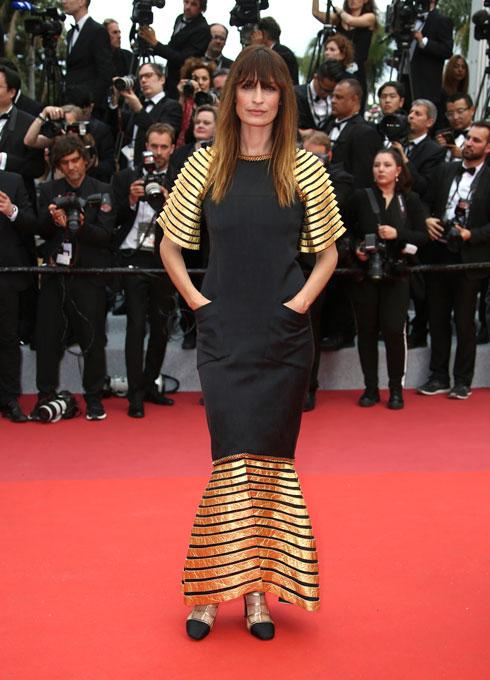 קרולין דה מגרט לובשת שאנל  (צילום: AP)