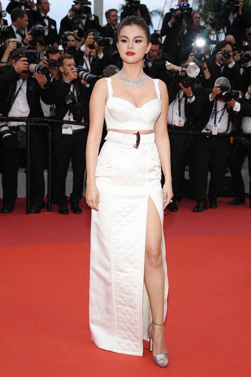 סלינה גומז לובשת לואי ויטון  (צילום: Pascal Le Segretain/GettyimagesIL)