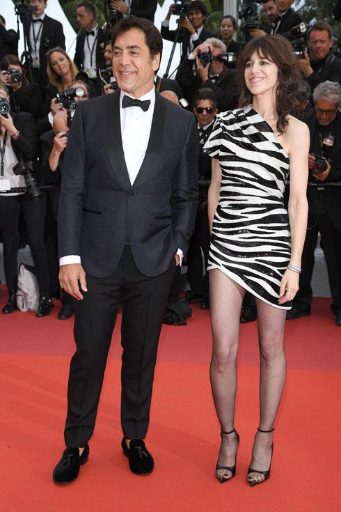 שרלוט גינסבורג לובשת סן לורן פריז  (צילום: Pascal Le Segretain/GettyimagesIL)