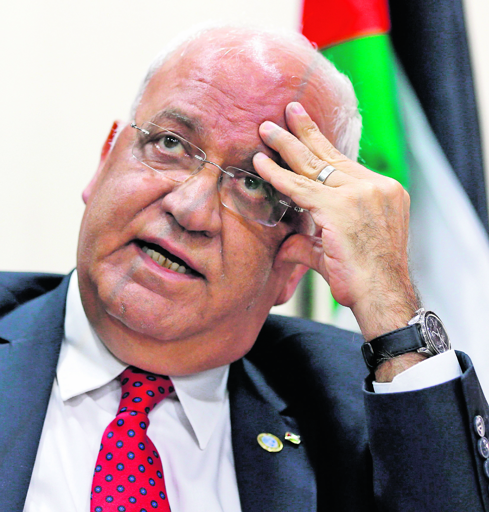 Saeb Erekat, a top Palestinian official (Photo: AFP )